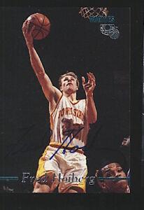 1995 Classic Marketing FRED HOIBERG auto RC autograph rookie Iowa State