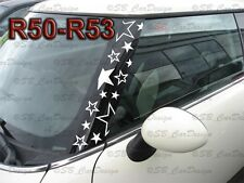 A-Säulen STERNE Aufkleber Pillar STARS Decal f. BMW MINI COOPER R50 One Works