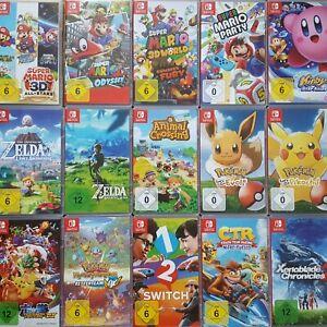 Nintendo Switch Spiele Mario Odyssey Party Zelda Pokemon Kirby uvm. Auswahl