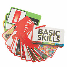 Basic Skills Cards On A Ring - Educational - 6 Pieces
