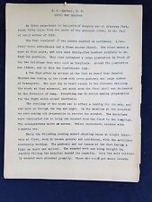 CIRCA 1862- 1865 CIVIL WAR BATTLEFIELD SURGEON MEDICAL NOTES Transcribed 16 pgs