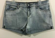 Arizona Jean Co. Blue Light Wash Denim Shorty Shorts Junior Size 13