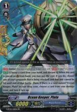 1x Cardfight!! Vanguard Ocean Keeper, Plato - G-BT02/018EN - RR Near Mint