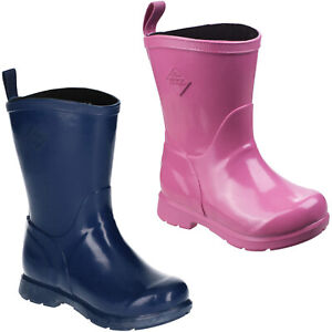 Muck Boots Bergen Mid Wellington Boots Waterproof Winter Kids Boys Girls Shoes