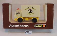 Faller 1/87 No.1025 Mercedes Benz Zugmaschine Schneider Mühle OVP #1385