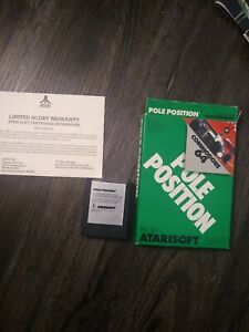 Commodore 64 Pole Position C64 computer cartridge with box