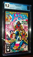 THE UNCANNY X-MEN #282 1991 Marvel Comics CGC 9.2 NM- White Pages