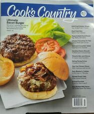 Cook's Country Jun Jul 2017 Ultimate Bacon Burger Chicken Wings FREE SHIPPING sb