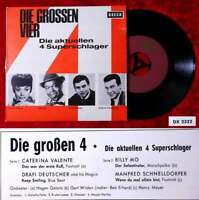 EP Die grossen Vier (Decca DX 2322) D 1964 Caterina Valente Drafi Deutscher....