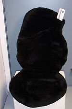 BMW Z4 (E85)Tailormade Factory Sheepskin Seat Cover-One Piece-Black-Driver Side