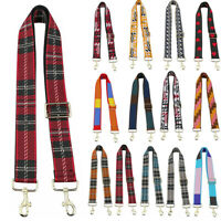 Ladys DIY Colorful Adjustable Bag Shoulder Strap Canvas Replacement For Handbag