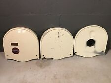 "Delta Milwaukee Rockwell 14"" Band Saw Upper Outer/ Inner And Lower Wheel Covers"