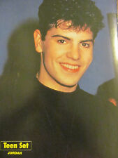Jordan Knight, New Kids on the Block, Full Page Vintage Pinup, NKOTB