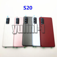 For Samsung Galaxy S20 G980 S20+ G985 Battery Rear Back Door Cover + Camera lens