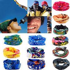 Multi Colors Tube Scarf Bandana Neck Gaiter Snood Headwear Beanie Face Mask &