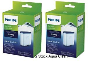 2 x SAECO Philips Aqua Clean CA6903/00 CA6903/10 Philip Wasserfilter Kalkfilter