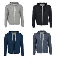 Men's Brave Soul 'Adrian' Hoodie Hooded Zip Gym Sports Sweatshirt RRP £19.99