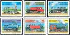 Timbres Trains Guinée 1129/34 ** lot 17046