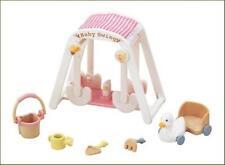 New Sylvanian Families Calico Critters Dolls Animals Baby Swing Set ka-208 Japan