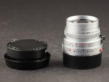 Leica M 50mm 2.0 silber 6bit selten rare 11825 FOTO-GÖRLITZ Ankauf+Verkauf