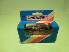 MATCHBOX MB33 RENAULT 11 TURBO - BLACK - VERY GOOD IN BOX
