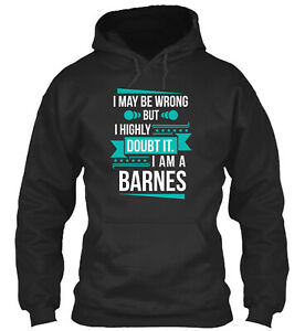 Teespring Barnes Don't Doubt Standard College Hoodie - Poly/Cotton Blend