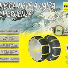 Catene da neve a calza per emergenza Formul8 mis 74 lavabili in lavatrice