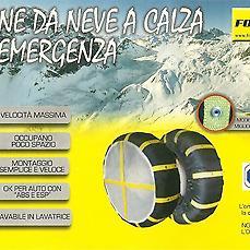 Catene da neve a calza per emergenza Formul8 mis 71 lavabili in lavatrice