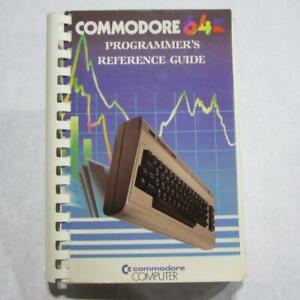 Commodore 64 Programmer's Reference Guide - First Edition Eighth Printing 1983