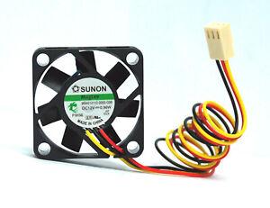 Sunon 40mm x 10mm MagLev Fan 3 Pin 12V Vapo Bearing MB40101V2-0000-G99