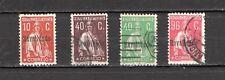 PORTUGAL 1929 Ceres Revalidado 4 timbres