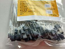 100pcs New RH 125℃ 257℉ Thermal Fuse 1A 250V