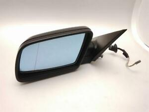 BMW 5 Series E60 E61 2007 To 2010 Black N/S Passenger Electric Door Mirror