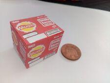 1/12 Scale: Empty Box Smokey Bacon Crisps dollshouse display miniatures