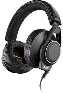 Plantronics RIG 600 206806-05 Headset - Kopfhörer, Kunststoff, Schwarz, NEU