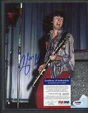 Glen Matlock Sex Pistols Signed PSA/DNA Q84306 AUTO 8x10 Photo