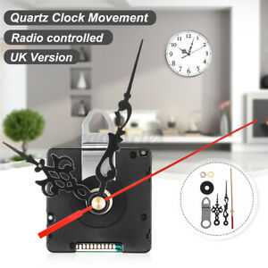 UK MSF Signal Mechanism Atomic Radio Controlled Silent Clock Movement Kit DIY