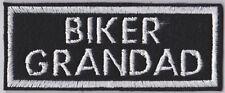 BIKER PATCH GRANDAD SLOGAN BIKER PATCH SEW ON BUY 5 PAY FOR 4!!