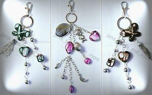 Zauberhafter Schlüsselanhänger Taschenanhänger Farbwahl  ca. 20 cm bzw. 25 cm
