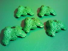 sympa 5 feuillage pour arbre playmobil (  maison , ville , verdure ) 0293