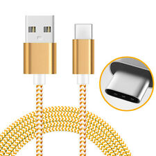 AMZER Golden 1M High Speed Tangle Free USB Type C Data Sync Charging Braid Cable
