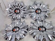 BIG BANG CHROME CUSTOM WHEEL CENTER CAPS #CAP9088-C/ #9088C    (FOR 4 CAPS)