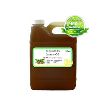 32 oz Premium UNREFINED Sesame Seed Oil Pure Organic Cold Pressed Best Fresh