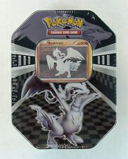 Reshiram Black & White Pokemon Collectible Tin Brand New Factory Sealed