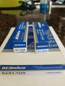 2Pcs Acdelco 41-109 Oem Iridium Spark Plugs 12622561 GM CHEVY CADILLAC BUICK NEW