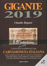 UN CATALOGO GIGANTE CARTAMONETA - BANCONOTE ITALIANA 2019 nuovo