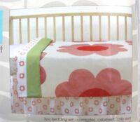 Orla Kiely for Target 3-Piece Cotton Crib Bedding Set Heart Daisy Flowers