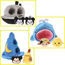 Disney D23 Expo Japan 2015 TSUM TSUM 3Sets Sorcerer Mickey Pinocchio Steamboat