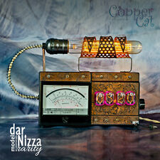 "Nixie Tubes MP3 Alarm Clock 4x IN-12 ""darNizza Rarity"" Steampunk by Copper Cat"