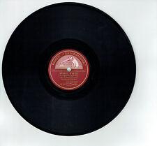 78T Will GLAHE Accordéon Disque Phono BEER BARREL POLKA - VOIX MAITRE 8342 RARE